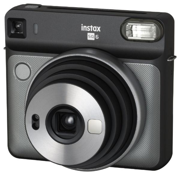 【送料無料】 フジフイルム FUJIFILM インスタントカメラ 『チェキ』 instax SQUARE SQ6 グラファイトグレー