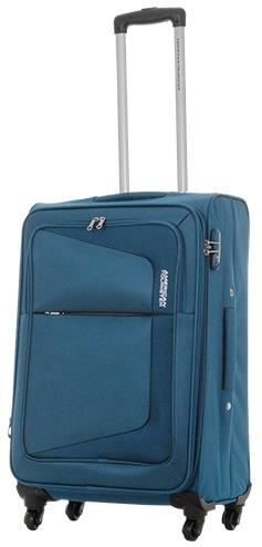 【送料無料】 サムソナイト TSAロック搭載スーツケース COSTA スピナー66 エキスパンダブル(74L)75W01002 ティールブルー 【メーカー直送・代金引換不可・時間指定・返品不可】