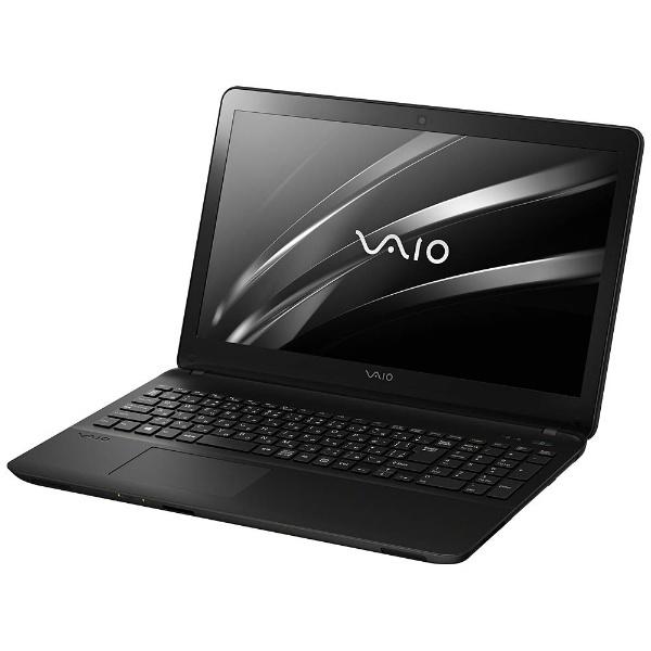 【送料無料】 VAIO バイオ 【10%OFFクーポン 8/4 18:00 ~ 8/5 23:59】15.5型ノートPC[Office付き・Win10 Home・Celeron・HDD 1TB・メモリ 4GB] VAIO Fit15E mk3 ブラック VJF15690211B (2017年2月モデル)