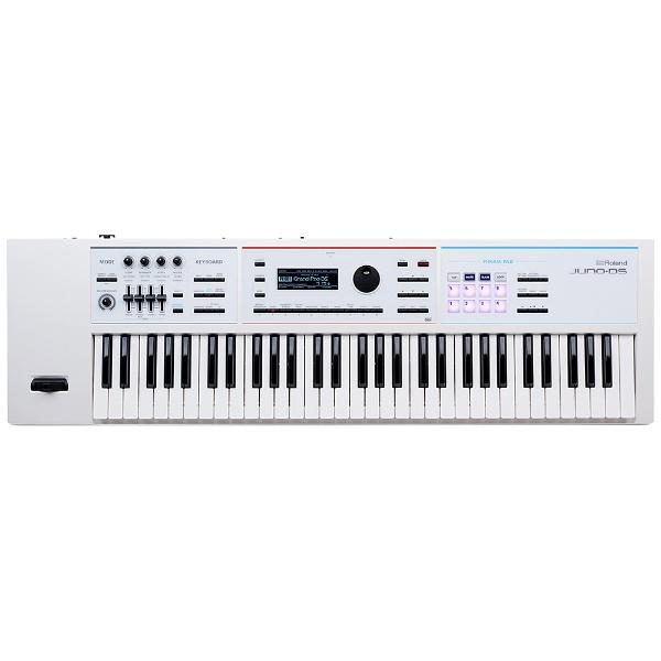【送料無料】 ローランド シンセサイザー(61鍵盤/ホワイト) JUNO-DS61 W