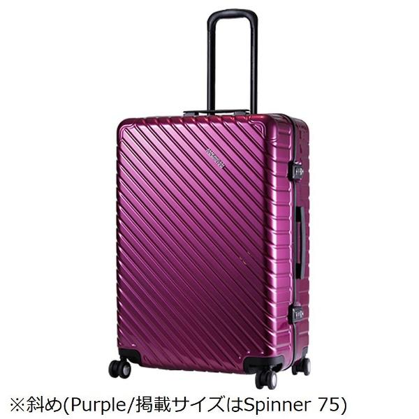 【送料無料】 アメリカンツーリスター TSAロック搭載スーツケース ROLLZ II スピナー55(34L)15Q91004 パープル 【メーカー直送・代金引換不可・時間指定・返品不可】