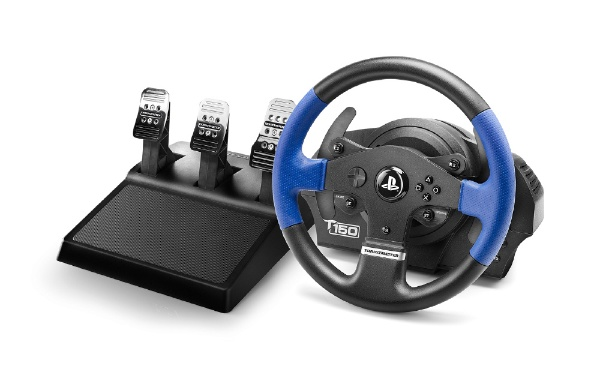 【送料無料】 MSY 【8%OFFクーポン 8/1 00:00 ~ 8/1 23:59】T150 PRO Force Feedback Racing Wheel for PS4/PS3 4160706【PS4/PS3】