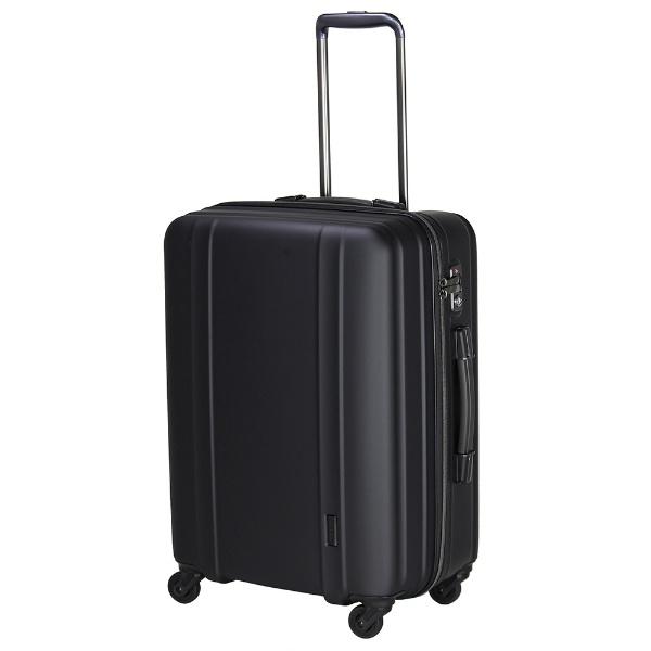 【送料無料】 シフレ 軽量スーツケース ハードジッパー ZER2088-56 マットブラック [約60L] 【メーカー直送・代金引換不可・時間指定・返品不可】