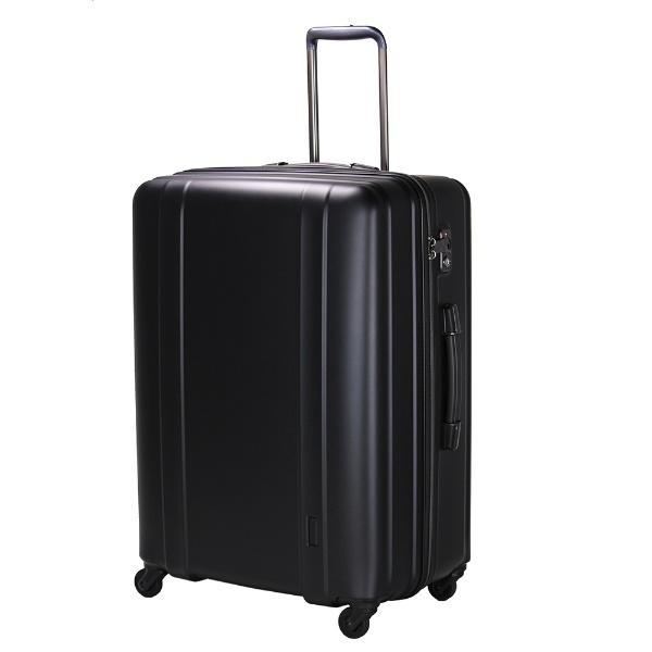 【送料無料】 シフレ 軽量スーツケース ハードジッパー ZER2088-66 マットブラック [約105L] 【メーカー直送・代金引換不可・時間指定・返品不可】