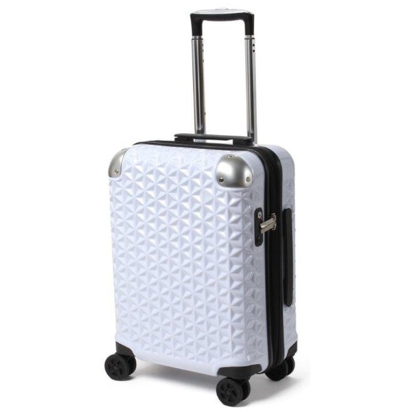 【送料無料】 元林 TSAロック搭載スーツケース SAY-1801 (ホワイト)