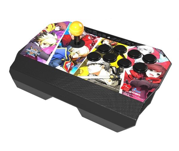 【送料無料】 QANBA ブレイブルー クロスタッグバトル ドローン アーケード ジョイスティック N2-PS4-01A【PS4】