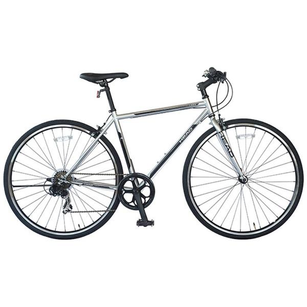 【送料無料】 HEAD 700×28C型 クロスバイク LOBO(ポリッシュ/480サイズ) CRQ-HE7007ST 【代金引換配送不可】【メーカー直送・代金引換不可・時間指定・返品不可】