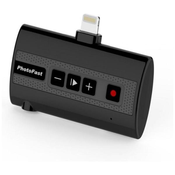 【送料無料】 PHOTOFAST iPhone/iPad/iPod touch対応[Lightning] 外部ストレージ Call Recorder X ブラック