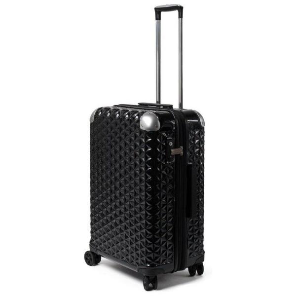 【送料無料】 元林 TSAロック搭載スーツケース SAY-1802 (ブラック)