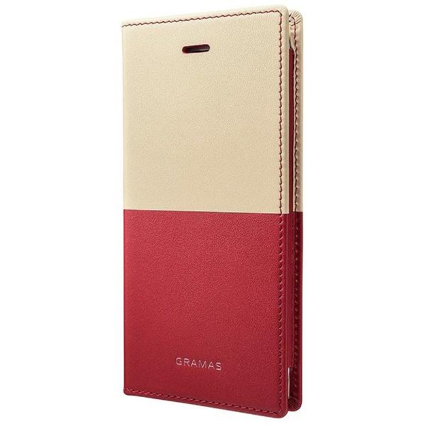 【送料無料】 坂本ラヂヲ iPhone 8 / 7用 TRICO Full Leather Case Limited GLC6106L2GO Goya(Red) 手帳型ケース GLC6106L2GO Goya(Red)