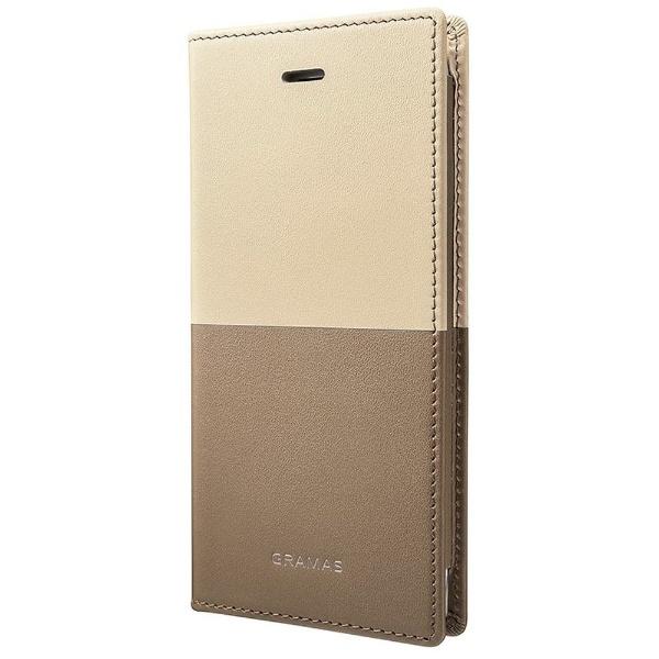 【送料無料】 坂本ラヂヲ iPhone 8 / 7用 TRICO Full Leather Case Limited GLC6106L2BE Beige 手帳型ケース GLC6106L2BE Beige