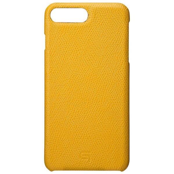 【送料無料】 坂本ラヂヲ iPhone 8 Plus / 7 Plus用 GRAMAS Embossed Grain Leather Case GLC856PYL Yellow