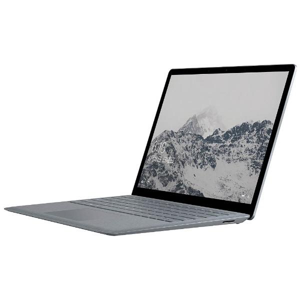 【送料無料】 マイクロソフト Microsoft 【2000円OFFクーポン 9/4 20:00~9/5 23:59】Surface Laptop 13.5型タッチ対応ノートPC[Office付き・Windows 10 S・Core i5・SSD 128GB・メモリ 8GB] 2018年モデル KSR-00022 プラチナ