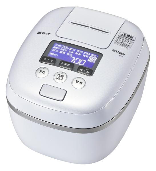 【送料無料】 タイガー 圧力IH炊飯ジャー 「炊きたて」(5.5合) JPC-A102WE アーバンホワイト
