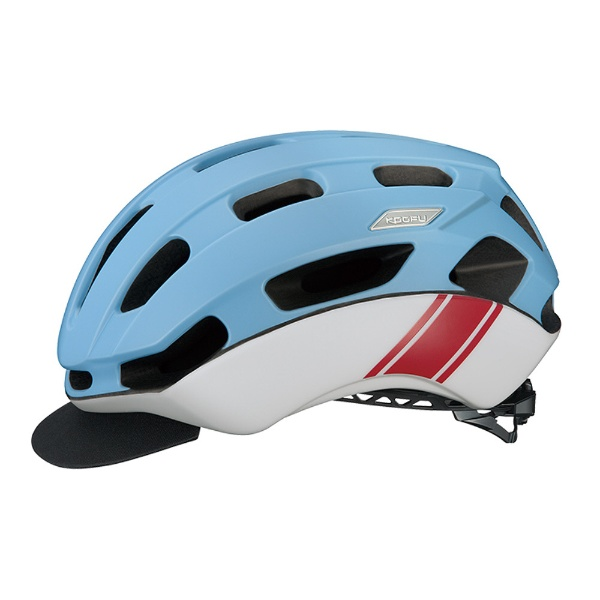 【送料無料】 OGK 自転車用ヘルメット BC-Glosbe II(マットブルーレーサー/S-Mサイズ:55~58cm)