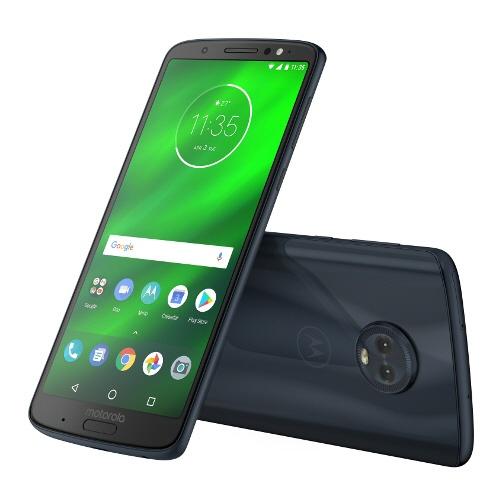 【送料無料】 モトローラ Moto G6 PLUS ディープインディゴ 「PAAT0026JP」Snapdragon630 5.93型・メモリ/ストレージ:4GB/64GB  nanoSIMx2 DSDS対応 SIMフリースマートフォン