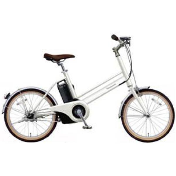【送料無料】 パナソニック Panasonic 20型 電動アシスト自転車 Jコンセプト(白磁:クリスタルホワイト/シングルシフト)BE-JELJ01AF【2018年モデル】【組立商品につき返品不可】 【代金引換配送不可】