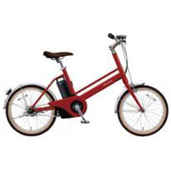 【送料無料】 パナソニック Panasonic 【eバイク】20型 電動アシスト自転車 Jコンセプト(紅緋:レッドリーブス/シングルシフト)BE-JELJ01AR【2018年モデル】【組立商品につき返品不可】 【代金引換配送不可】