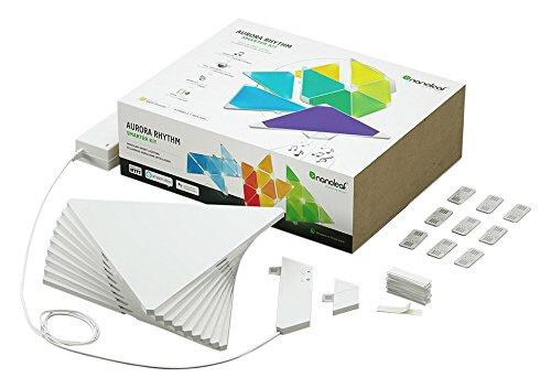 【送料無料】 Nanoleaf Nanoleaf Aurora Rhythm Smarter Kit NL28-2006TW-9PK-J