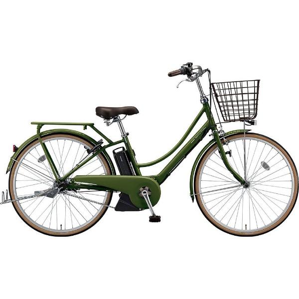 【送料無料】 ブリヂストン 26型 電動アシスト自転車 アシスタプリマ(E.Xダークオリーブ/内装3段変速)A6PC18【2019年モデル】【組立商品につき返品不可】 【代金引換配送不可】
