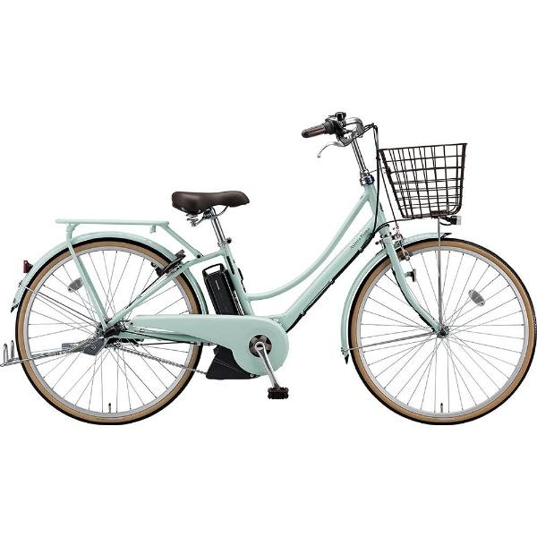 【送料無料】 ブリヂストン 26型 電動アシスト自転車 アシスタプリマ(E.Xグレイッシュミント/内装3段変速)A6PC18【2019年モデル】【組立商品につき返品不可】 【代金引換配送不可】