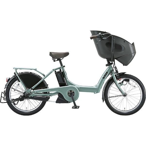 【送料無料】 ブリヂストン 20型 電動アシスト自転車 bikke POLAR e(T.レトログリーン/内装3段変速)BP0C49【2019年モデル】【組立商品につき返品不可】 【代金引換配送不可】
