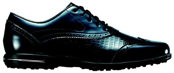 【送料無料】 フットジョイ レディース スパイクレス ゴルフシューズ Tailored Collection(25.0cm/Black) #91688