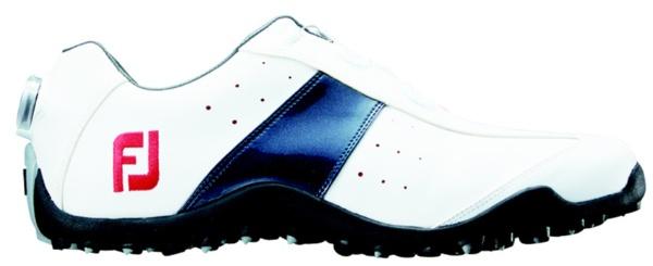 【送料無料】 フットジョイ メンズ スパイクレス ゴルフシューズ EXL Spikeless Boa(24.5cm/White×Navy)#45181