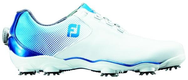 【送料無料】 フットジョイ メンズ ゴルフシューズ D.N.A. Boa(26.0cm/White×Blue)#53336