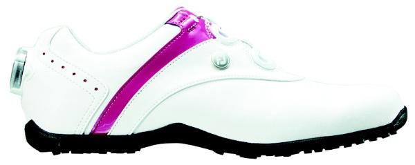 【送料無料】 フットジョイ レディース スパイクレス ゴルフシューズ LoPro SL Boa(24.5cm/White×Berry)#97187