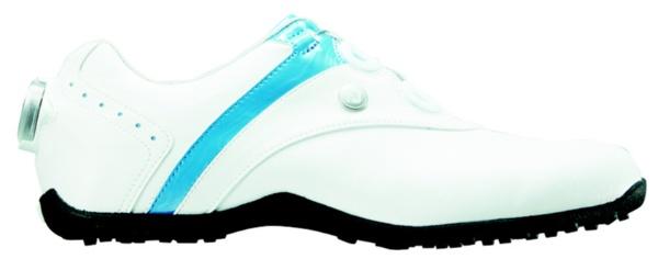 【送料無料】 フットジョイ レディース スパイクレス ゴルフシューズ LoPro SL Boa(23.5cm/White×Blue)#97191