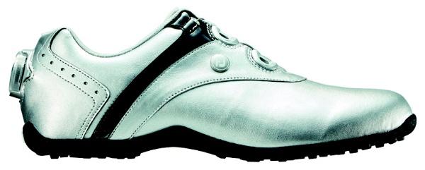 【送料無料】 フットジョイ レディース スパイクレス ゴルフシューズ LoPro SL Boa(24.5cm/Silver×Black)#97195