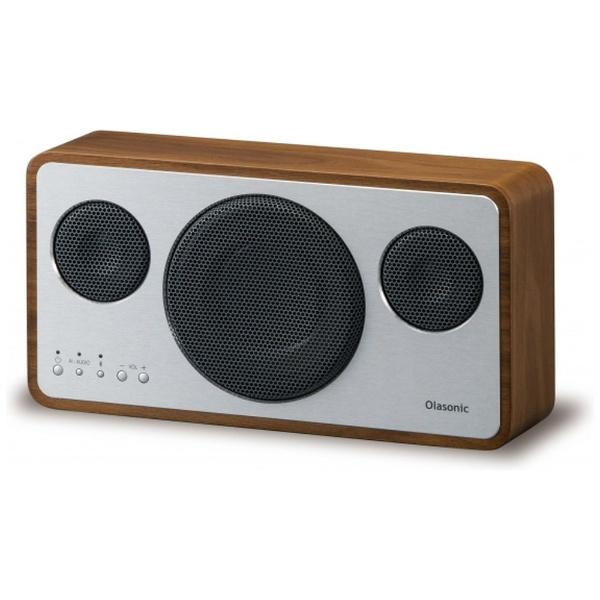 【送料無料】 オラソニック ブルートゥーススピーカー IA-BT7 WN ウォルナット [ハイレゾ対応 /Bluetooth対応]