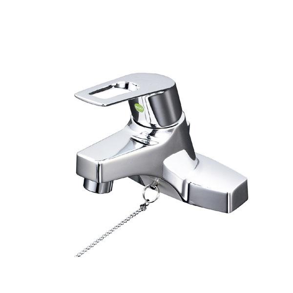 【送料無料】 KVK KM7014ZTEC 寒 洗面混合栓 eレバー