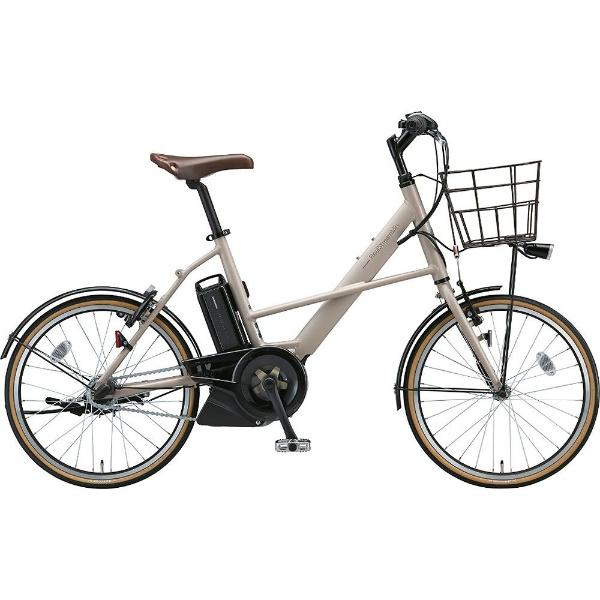 【送料無料】 ブリヂストン 20型 電動アシスト自転車 リアルストリームミニ(T.レトログレージュ/内装3段変速) RS2C38【2018年モデル】【組立商品につき返品不可】 【代金引換配送不可】