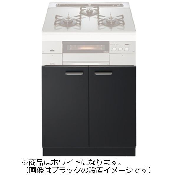 【送料無料】 ノーリツ システムキッチン用両開扉収納庫 NLA6020W ホワイト