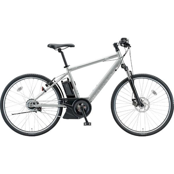 【送料無料】 ブリヂストン 【eバイク】26型 電動アシスト自転車 リアルストリーム(T.スノーシルバー/内装8段変速)RS6C48【2018年モデル】【組立商品につき返品不可】 【代金引換配送不可】