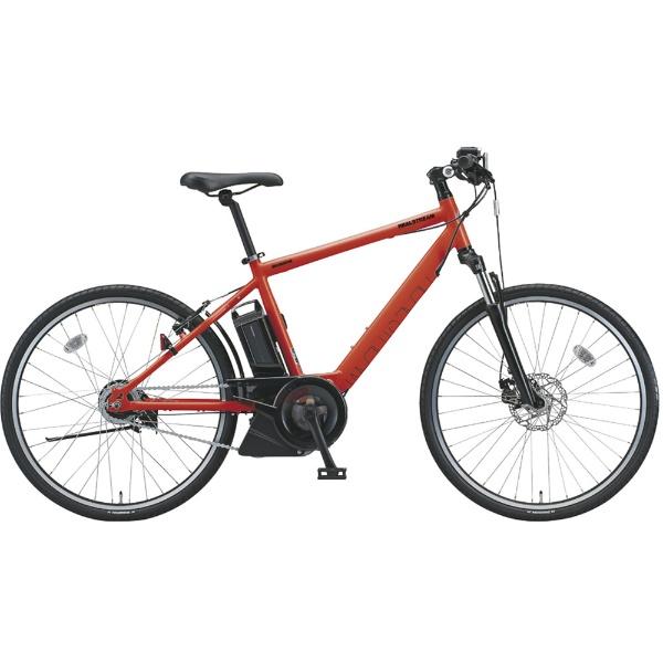 【送料無料】 ブリヂストン 【eバイク】26型 電動アシスト自転車 リアルストリーム(F.ソリッドオレンジ/内装8段変速)RS6C48【2018年モデル】【組立商品につき返品不可】 【代金引換配送不可】