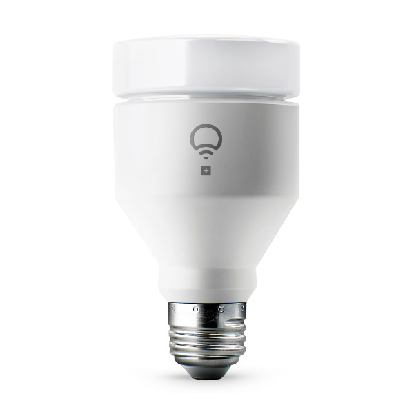 【送料無料】 LIFX スマートLED電球「LIFX+ A19 E26」 75W相当 スマートフォン/スマートスピーカー操作 色/色温度/明るさ変更 暗視支援赤外線 LHA19E26UC10PJP