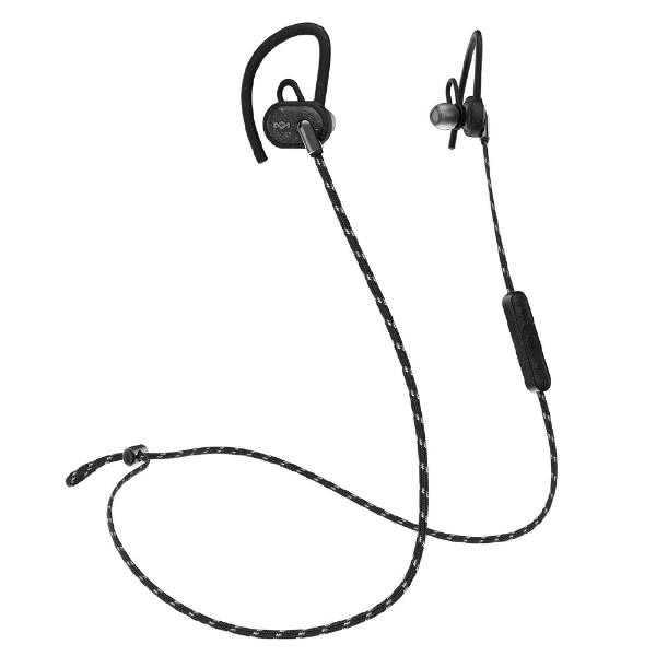 【送料無料】 HOUSEOFMARLEY 耳かけ型ヘッドホン EM-UPRISE-BK ブラック