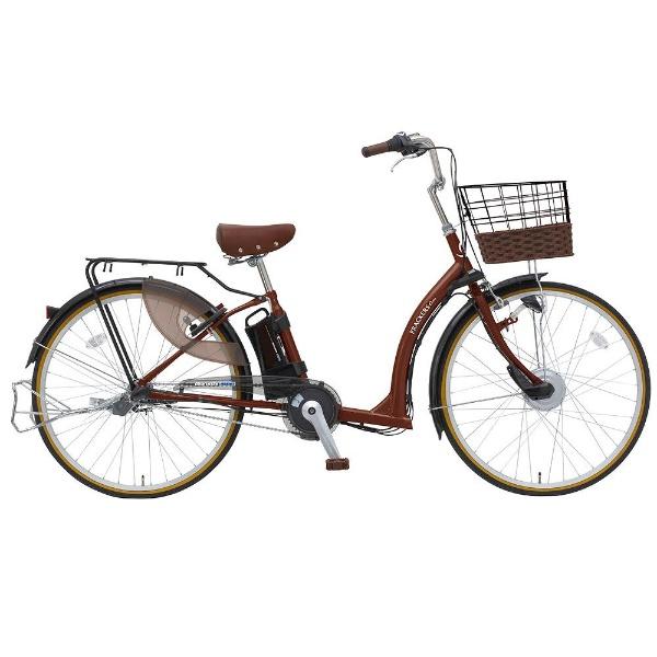【送料無料】 丸石サイクル 26型 電動アシスト自転車 フラッカーズキュートアシスト (ブラウン/内装3段変速)ASFRQ263B C80M【組立商品につき返品不可】 【代金引換配送不可】