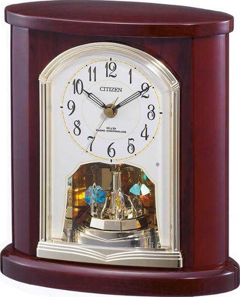 【送料無料】 リズム時計 CITIZEN 電波置き時計 4RY681-N06 4RY681-N06