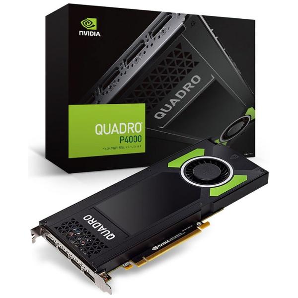【送料無料】 ELSA(エルザ) 【10%OFFクーポン 8/4 18:00 ~ 8/5 23:59】グラフィックボード ELSA NVIDIA Quadro P4000 EQP4000-8GER [8GB /Quadroシリーズ]