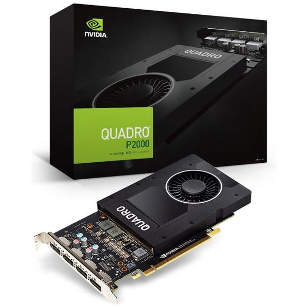 【送料無料】 ELSA(エルザ) グラフィックボード ELSA NVIDIA Quadro P2000 EQP2000-5GER [5GB /Quadroシリーズ]