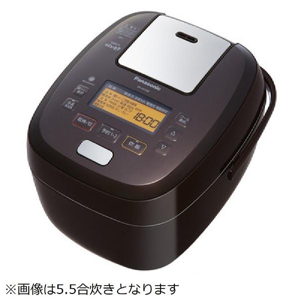 【送料無料】 パナソニック Panasonic SR-PA188 炊飯器 可変圧力おどり炊き ブラウン [1升 /圧力IH]