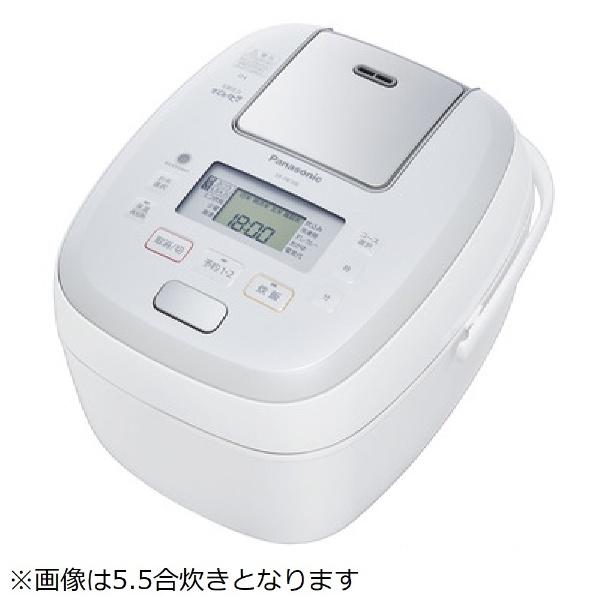 【送料無料】 パナソニック 可変圧力IH炊飯ジャー 「可変圧力おどり炊き」(1升) SR-PB188-W ホワイト