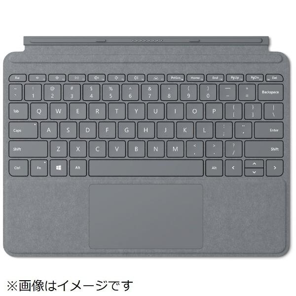 【送料無料】 マイクロソフト Microsoft 【純正】 Surface Go用 Surface Go Signature タイプ カバー KCS-00019 プラチナ