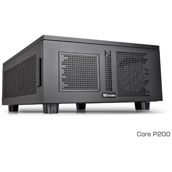 【送料無料】 THERMALTAKE Core W200用拡張ユニット Core P200 CA-1F4-00D1NN ブラック