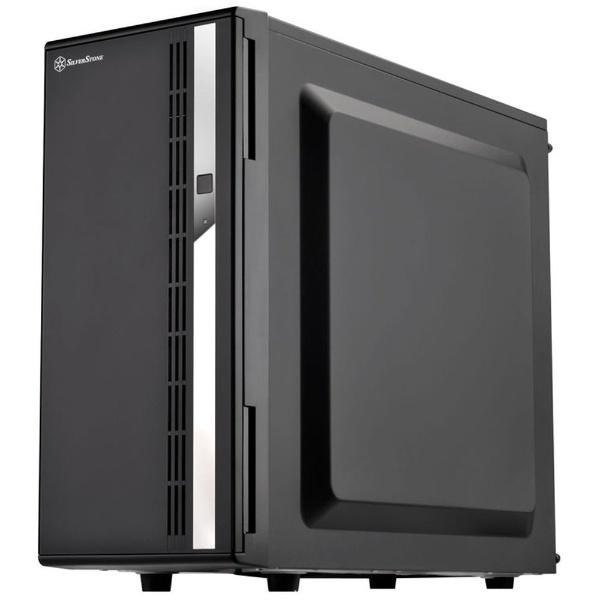 【送料無料】 シルバーストーン(SILVERSTON) PCケース Case Storage SST-CS380B ブラック