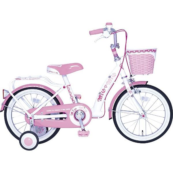 【送料無料】 タマコシ 18型 子供用自転車 ミウミウ18(ピンク/シングルシフト)【組立商品につき返品不可】 【代金引換配送不可】